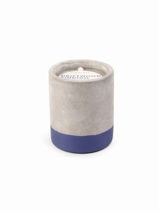 Urban Concrete 3.5 oz candle - Driftwood + Indigo Living > Candles + Candle holders