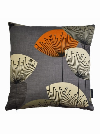 Sanderson Dandelion Clocks Cushion Cover - Slate Living > Cushion covers