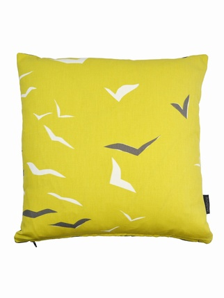Scion Flight cushion cover - Yellow Living > Cushion covers