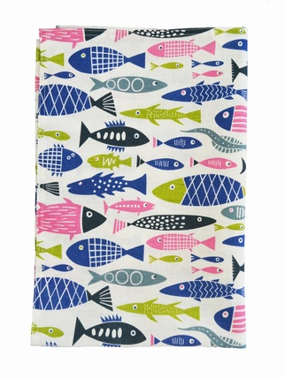 Klippan Swedish Tea Towel - Fish Kitchen > Tea Towels