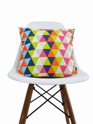 Harlequin Geometric cushion cover - Kaleidoscope Multi Living > Cushion covers
