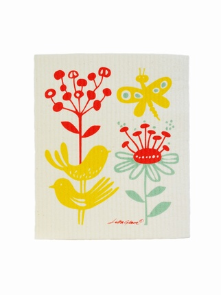 Klippan Swedish Butterfly dishcloth Kitchen > Dishcloths