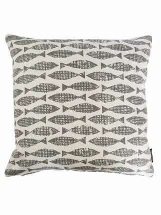 Samaki cushion cover - Grey Living > Cushion covers