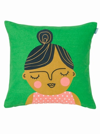 Spira Friends cushion cover - Esmeralda Living > Cushion covers