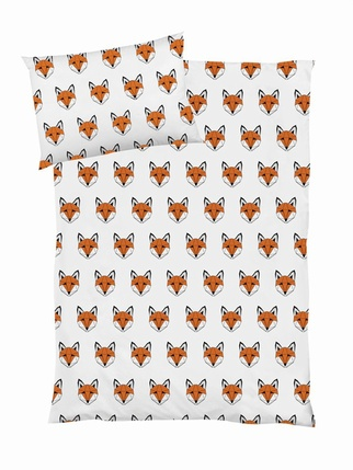 Tobias & the bear bedset - Just call me Fox COTBED Kids > Bedding