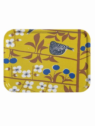Almedahls Cherry bird LARGE Tray Kitchen > Trays
