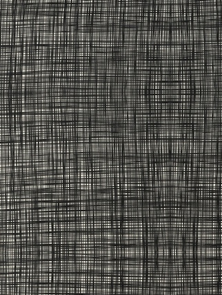 Orla Kiely Scribble fabric  - Gun Metal Fabric > Orla kiely