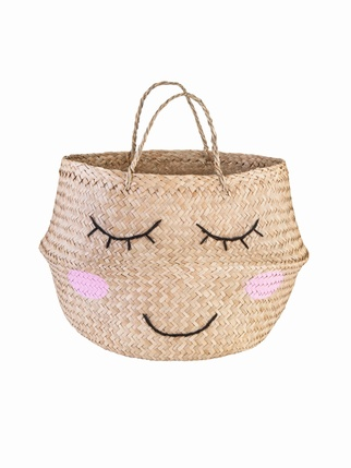 Seagrass Sweet Dreams Storage Basket Kids > Storage