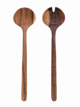 Wooden Salad Servers Kitchen > Tableware