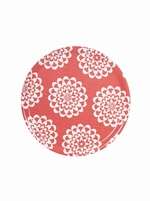Round Birch Tray - Lycka Coral