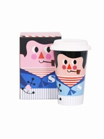 Sailor porcelain travel mug