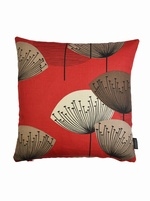 Sanderson Dandelion Clocks Cushion Cover - RED