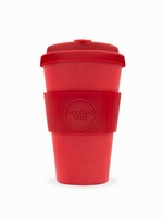 RED DAWN 14OZ REUSABLE BAMBOO COFFEE CUP