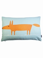 SCION Mr fox cushion cover - Blue