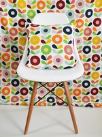 Swedish Kinnamark Multi Stem fabric - Cirkelblooma