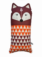 SALE - Gunna Ydri geometric Fox doll - RED
