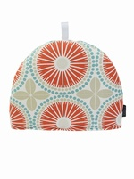 Tile Tea cosy - Coral