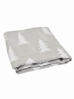 Fine little day XL muslin cloth - Grey