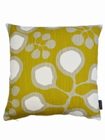 Sedum cushion cover  -Mustard/Grey