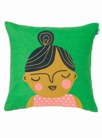 Spira Friends cushion cover - Esmeralda