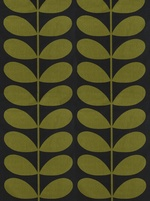 Orla Kiely Giant Stem fabric- -Moss