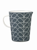 Orla Kiely Linear Stem Enamel Large Measuring Jug