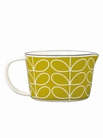 Orla Kiely Linear Stem Small Enamel measuring Jug