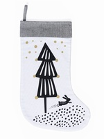 SALE - Wee Gallery - Christmas Tree Stocking