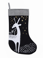 SALE - Wee Gallery - Deer Stocking – Black